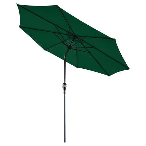4 Ft Patio Umbrella 9 Ft Aluminum Outdoor Patio Umbrella Market Yard W Crank Tilt 4 Color