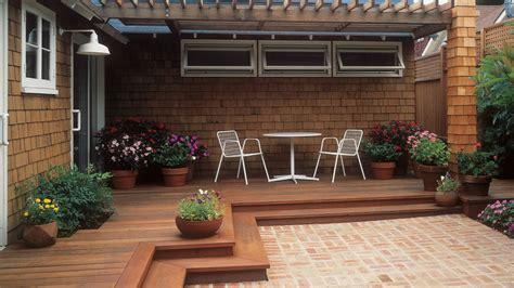 six ideas for backyard patio designs theydesign net great deck ideas sunset