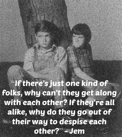 Jem And Scout Relationship Quotes
