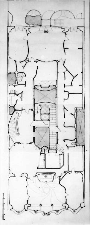 casa batllo floor plan 49 best sketches images on pinterest