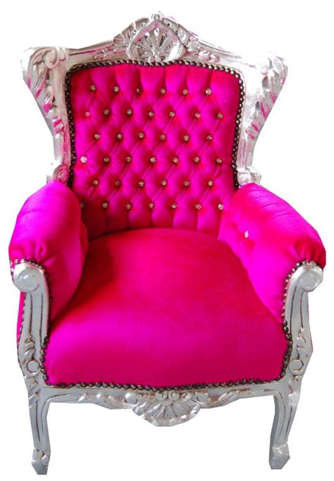 hot pink armchair hot pink room offices and pink kids on pinterest