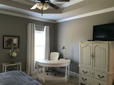 sherwin williams dorian gray walls and sherwin williams worldly gray ceiling home