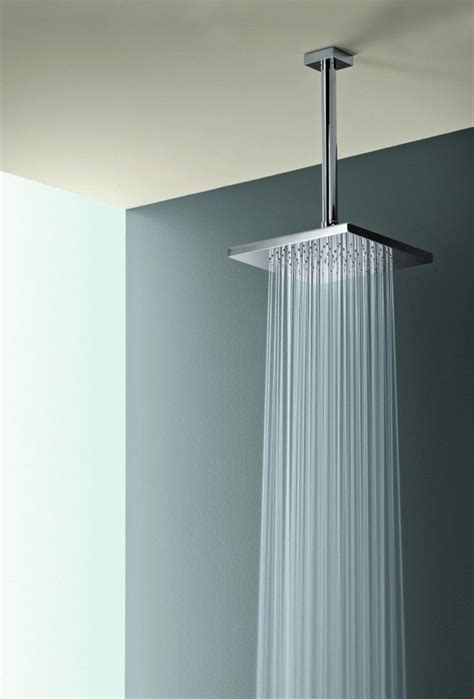 bathroom shower head ideas square rain shower head w ceiling mount room house