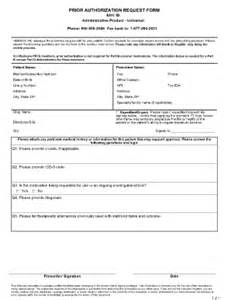 Connected Care Precertification Request Form Humana 1800 Fill Printable Fillable Blank
