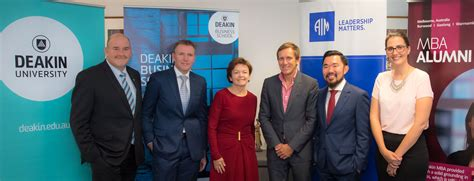 Australian Institute Of Business Mba Linkedin by Deakin Business School And Aim Announce Three Year
