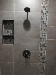 master bath shower build direct takla choclate 12x24