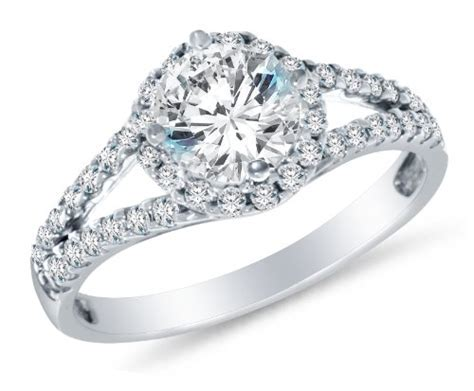 Size 5   Solid 14k White Gold Highest Quality CZ Cubic