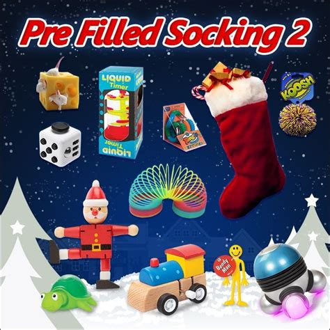 awesome pre filled christmas stocking option 2 awesome pre