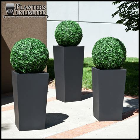 faux topiary outdoor outside artificial plants images