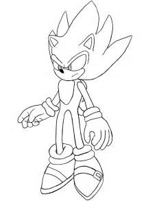 Sonic Unleashed Colouring Pages sketch template