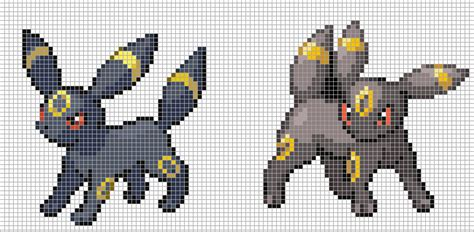 umbreon pixel template the gallery for gt eevee pixel templates