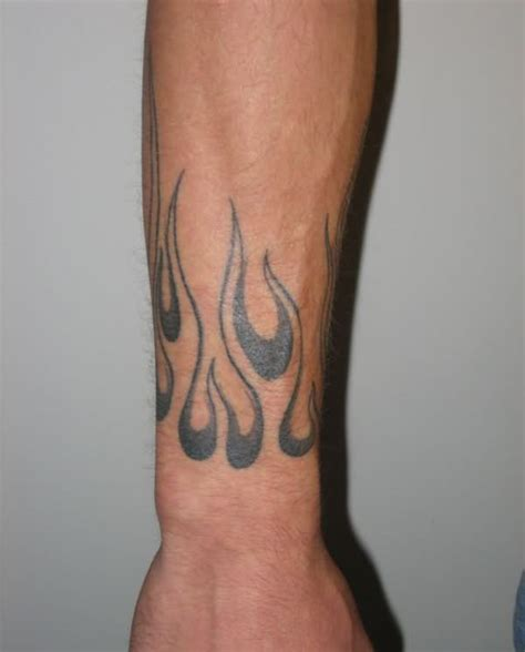 tattoo flames wrist 33 and tattoos pictures images and ideas