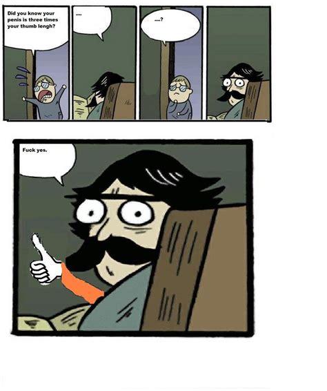 Dad Comic Meme - stare dad