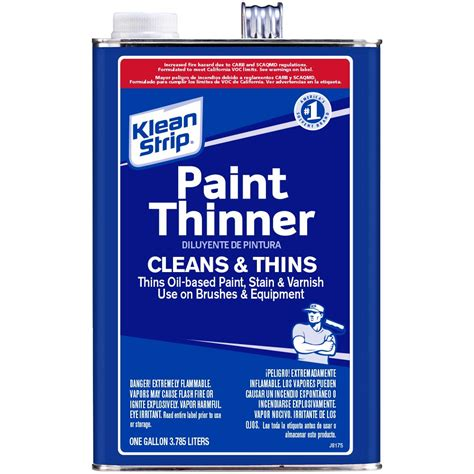 home depot paint thinner klean 1 gal paint thinner gkpt100sc the home depot