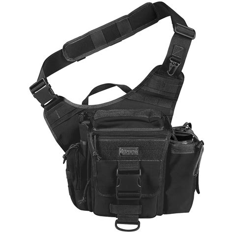 maxpedition s type maxpedition jumbo s type versipack black shoulder bags
