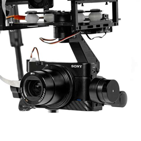 dronexpert sony rx  axis gimbal  zoom