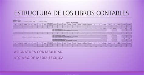 libro delta connection profesor luis romero estructura de los libros contables