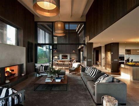 Modern Warm Living Room Designs Modern Fireplace 1 Decoist