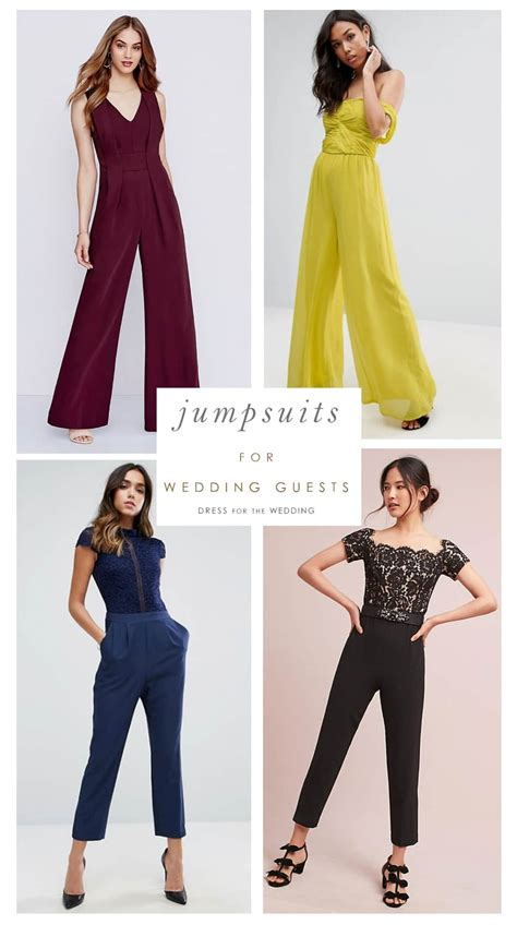 Wedding Attire Jumpsuits by 15 Jumpsuits You Can Absolutely Wear As A Wedding Guest