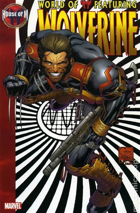 house of m world of m featuring wolverine tpb 2006 marvel comic books