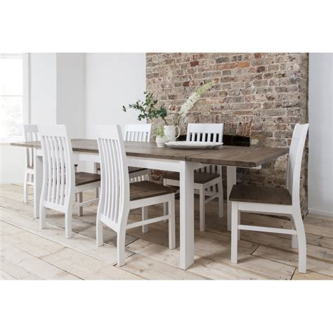 extension dining table and chairs hever dining table with 6 chairs and 2 extensions noa nani