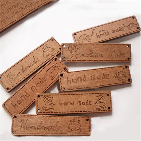 Selling Handmade Items Uk - wood handmade sew on tags signs labels choose lot from