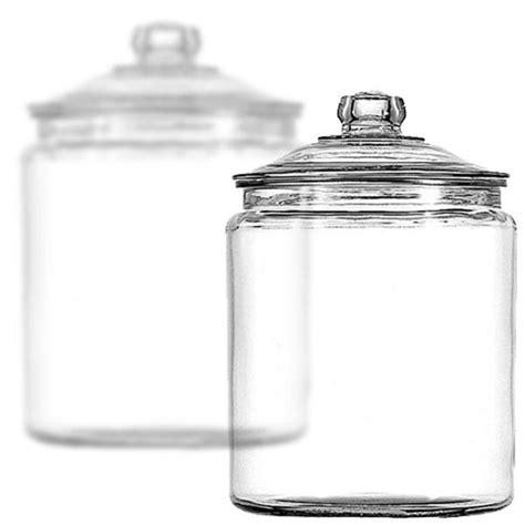 Glass Candy Jars With Glass Lids 1 2 Gallon 6ct Case Buffet Supplies Bulk
