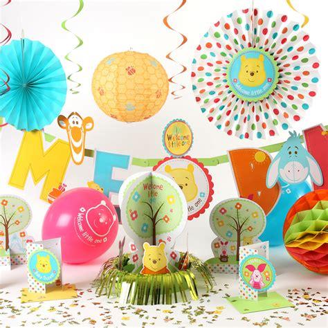 winnie the pooh baby shower decorations disney baby