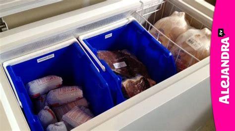 chest freezer organization how to organize a deep