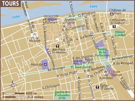 tour map map of tours