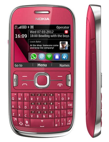 Hp Nokia Keypad Qwerty hp nokia asha 302 baru murah ponsel keypad qwerty multi