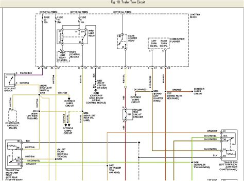 2000 jeep trailer wiring diagram 28 images 2000 jeep