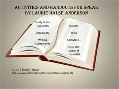 Speak By Laurie Halse Essay by The World S Catalog Of Ideas