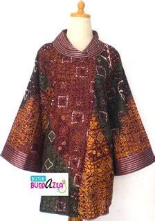 Batik Corporate Bri Lengan 3 4 emerald dress db 19 new eksklusif busana muslim terbaru