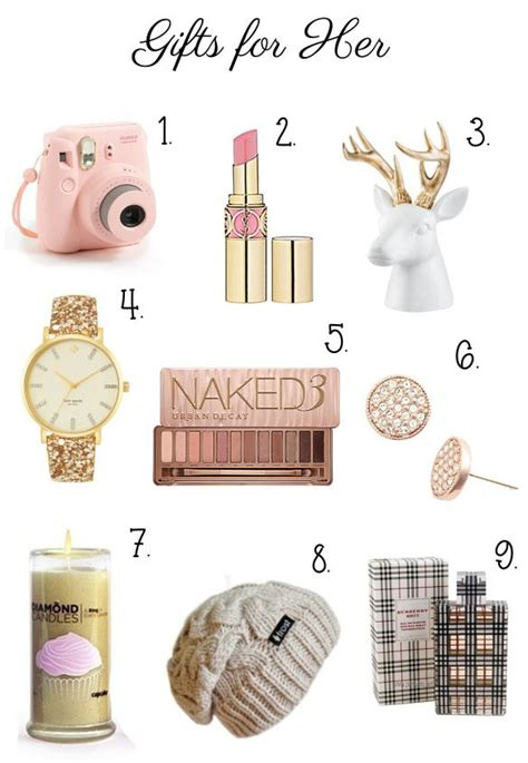 christmas ideas for her 25 best ideas about gifts for her on pinterest gifts