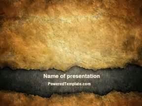 parchment powerpoint template parchment powerpoint template by poweredtemplate