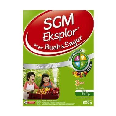 Sgm Buah Dan Sayur Jual Sgm Eksplor 3 Presinutri Buah Dan Sayur Formula