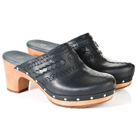 clog sneakers for ugg 174 black vivica women s clog shoe