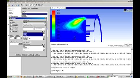 tutorial online youtube combustion tutorial ansys fluent youtube