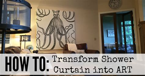 Kati Heifner How To Shower Curtain Wall Art Curtain Wall Decor