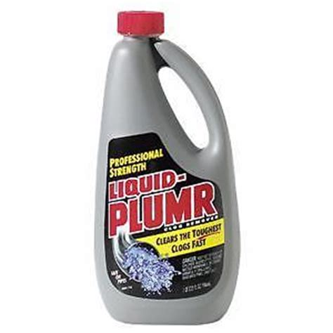 Liquid Plumbing by 9 Bottles Of Liquid Plumber Drain Cleaner 32 Oz Ea Ebay