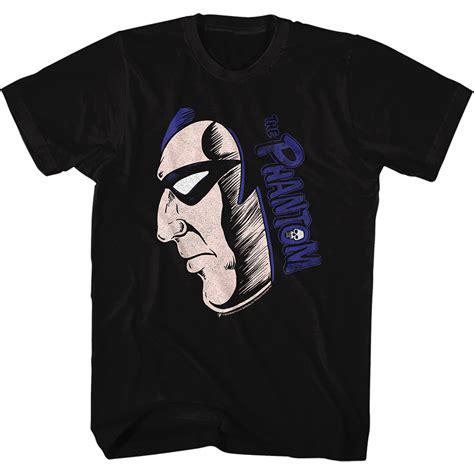 The Phantom Shirt the phantom shirt logo black t shirt the phantom shirts