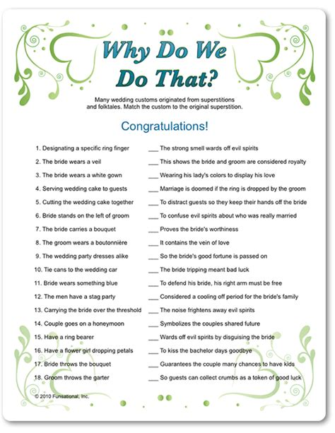 bridal shower trivia questions template printable why do we do that funsational bridal showers bridal