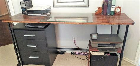 diy metal desk diy metal desk diy pallet desk with flat box metal legs