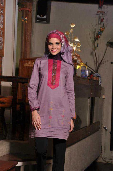 Baju Blouse Blus Katun Nov tunik azka busana muslim baju muslim pusat busana