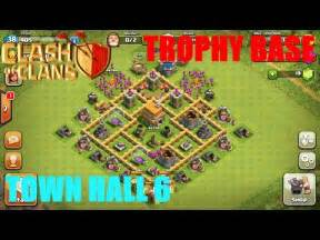 Best town hall level 6 defense strategy for clash of clans youtube
