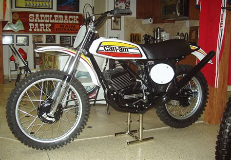 can am motocross bikes the early years of motocross