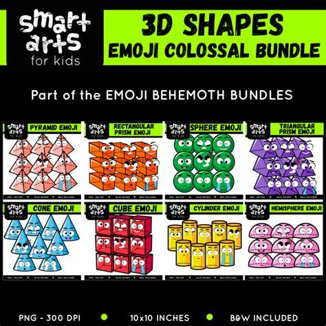 emoji clip arts behemoth bundle smart arts  kids