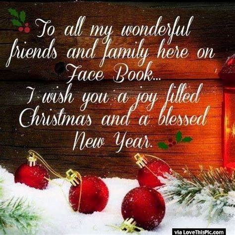 merry christmas  happy  year    facebook friends  family pictures