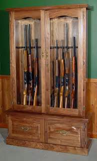 wood gun cabinets gun racks rifle handgun displays